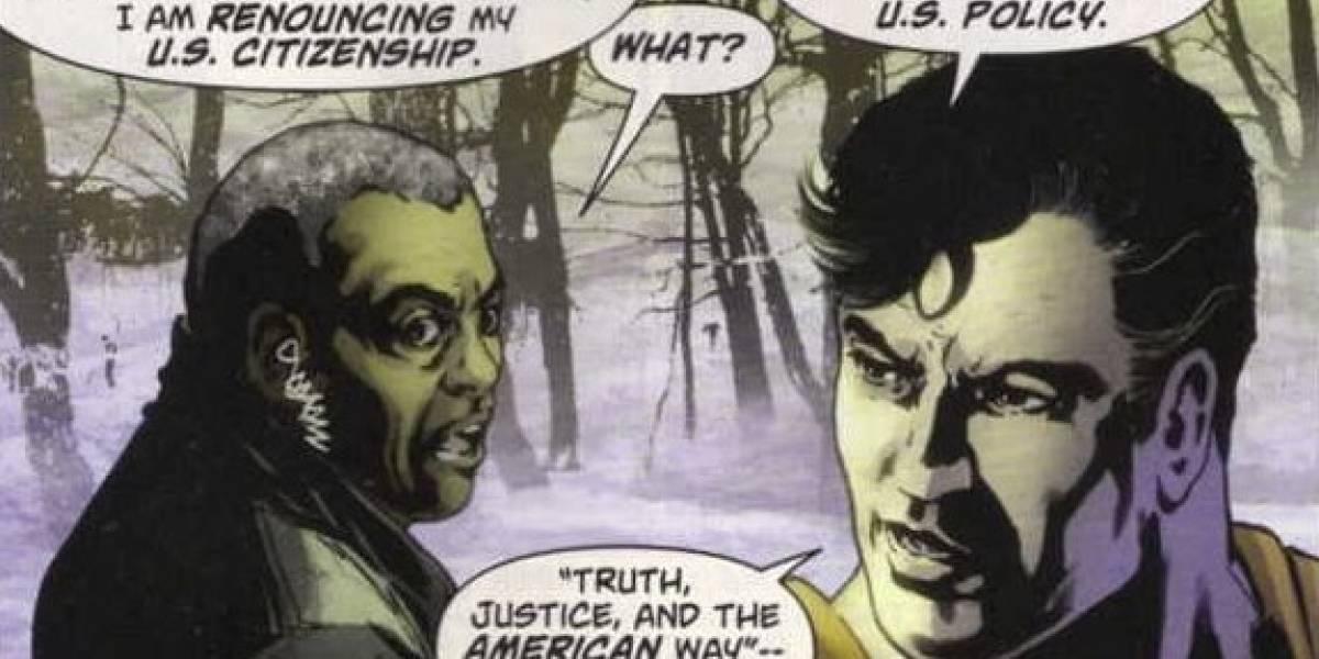 Superman renunció a su ciudadanía estadounidense
