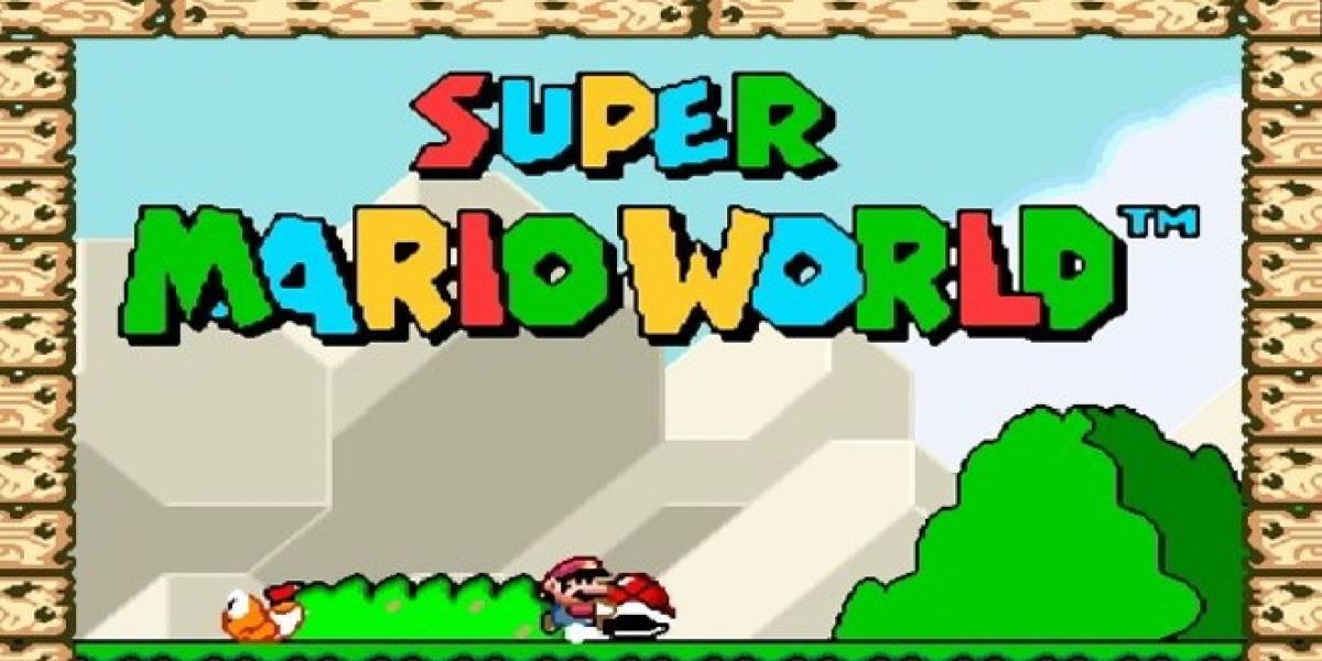 Logran el puntaje más bajo en Super Mario World para SNES
