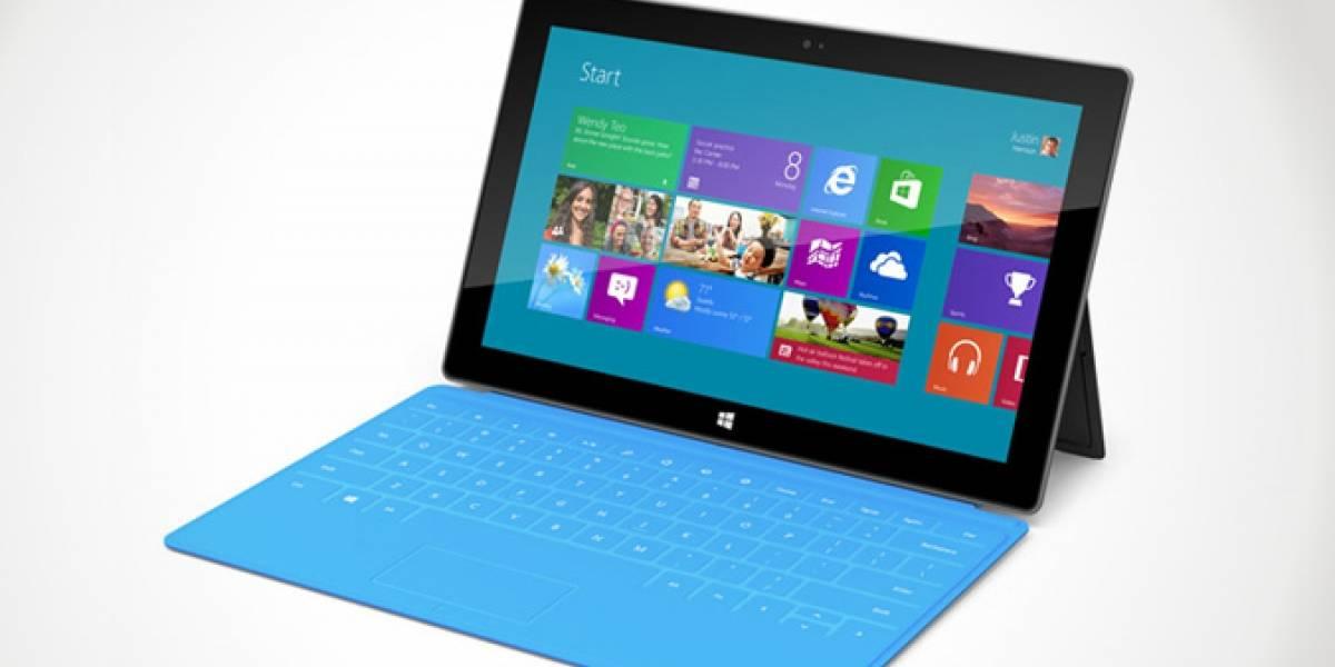 Microsoft planea fabricar tres millones de unidades del Surface solo este año