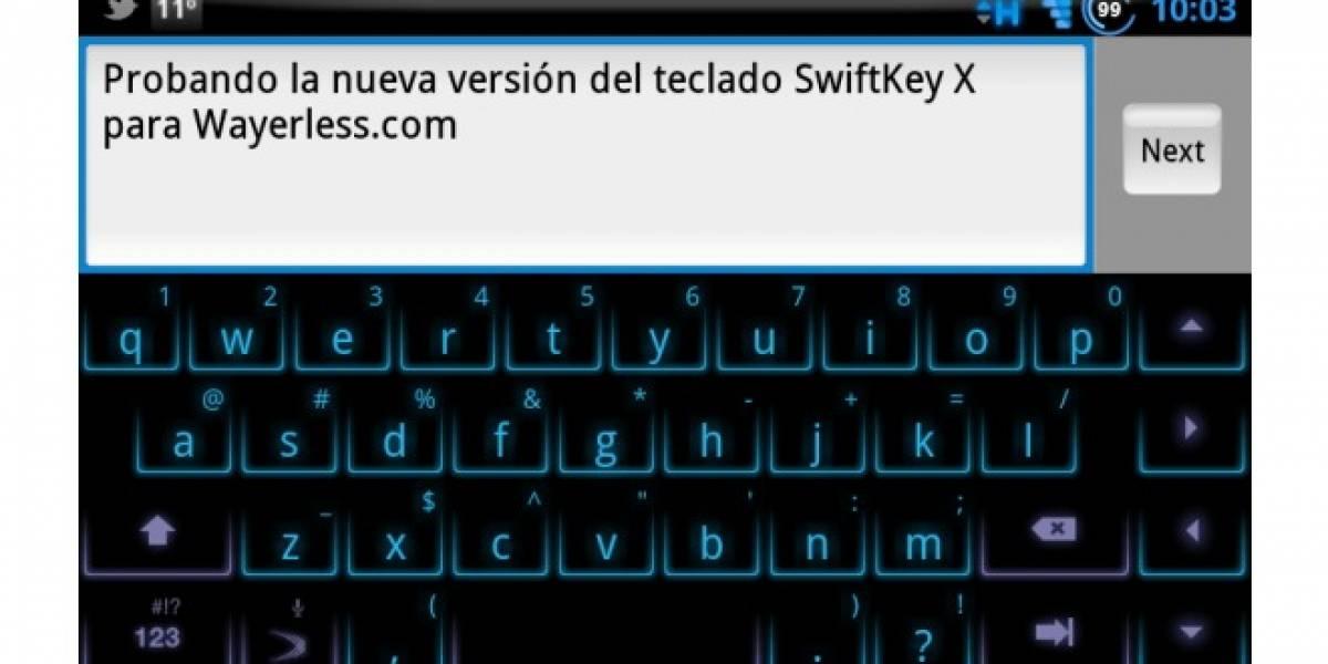 SwiftKey X el famoso teclado para Android llega a la versión 2.2