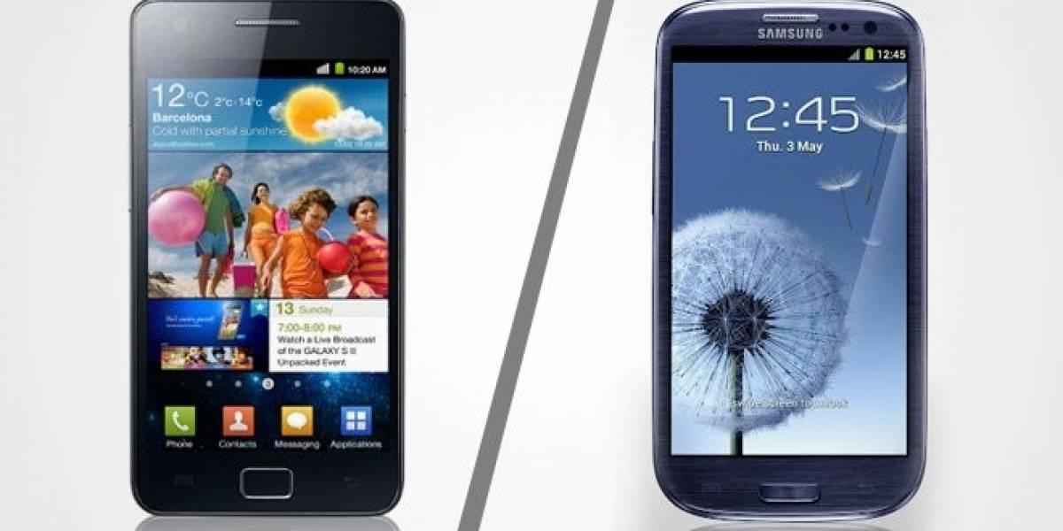 Android 4.1.2 Jelly Bean filtrado para el Samsung Galaxy SII y SIII