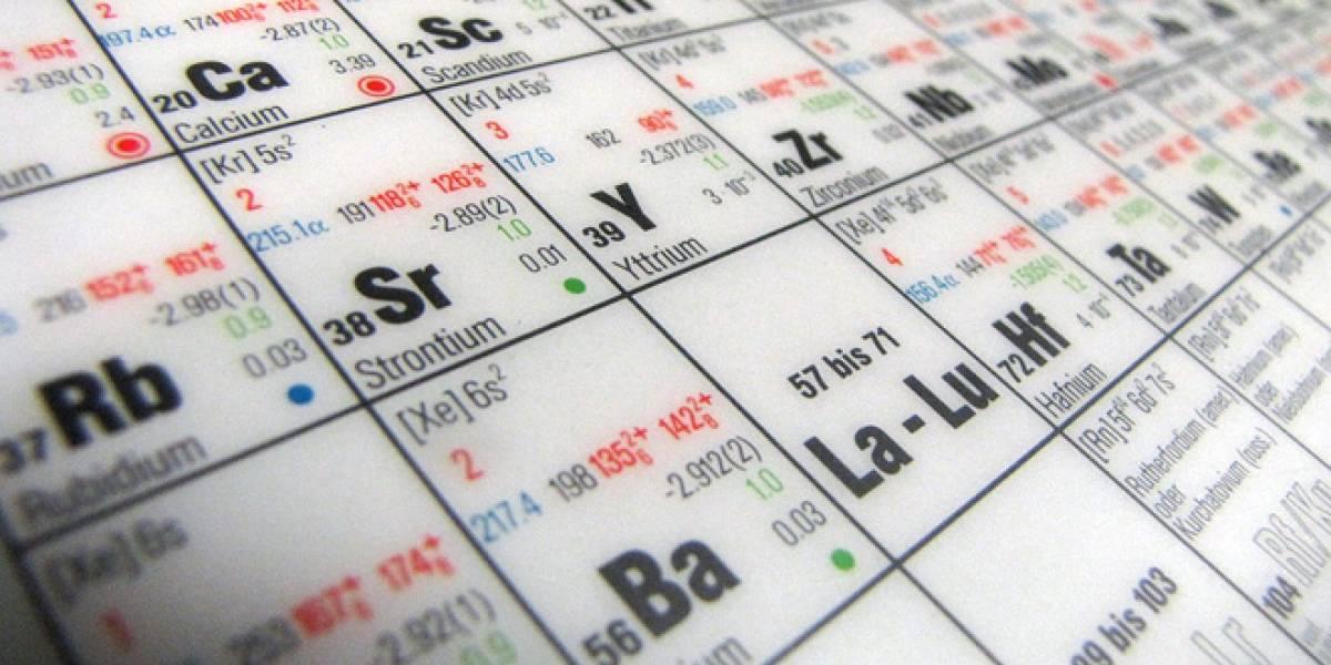 Hay que agregar dos nuevos cuadritos en la tabla periódica de elementos