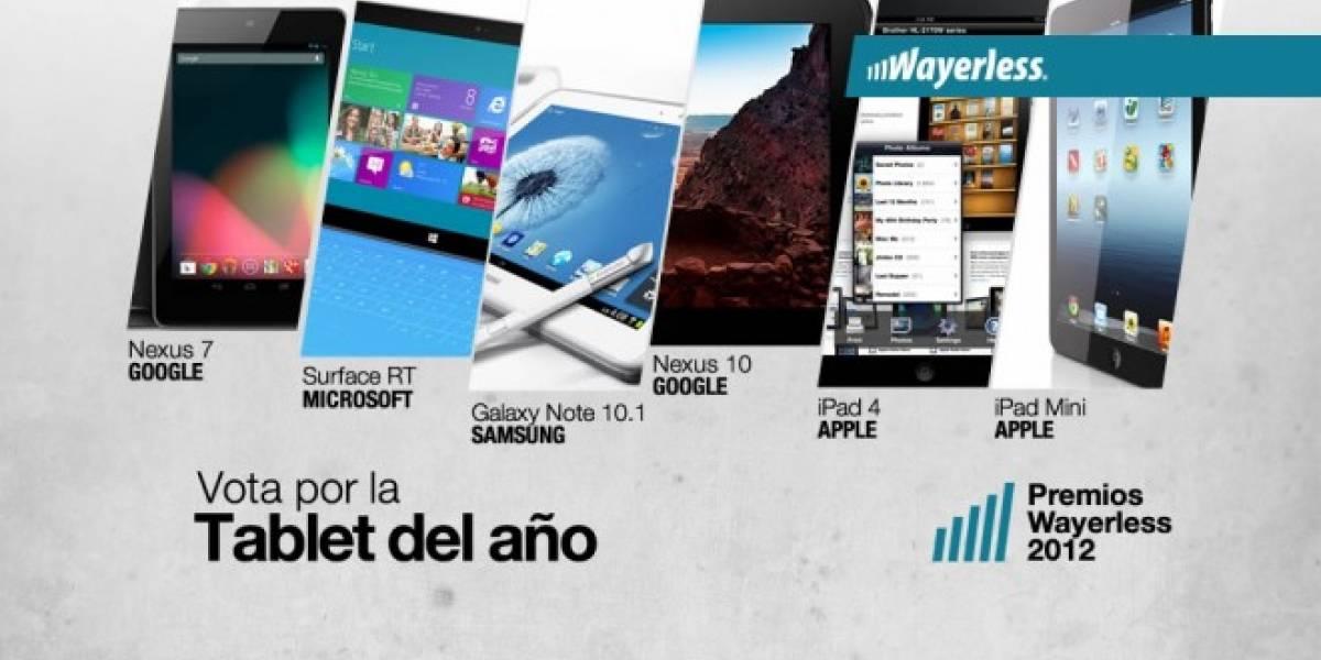 Vota por la Tablet del Año 2012