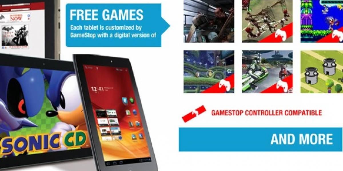 GameStop ya vende tablets Android preparadas para jugar