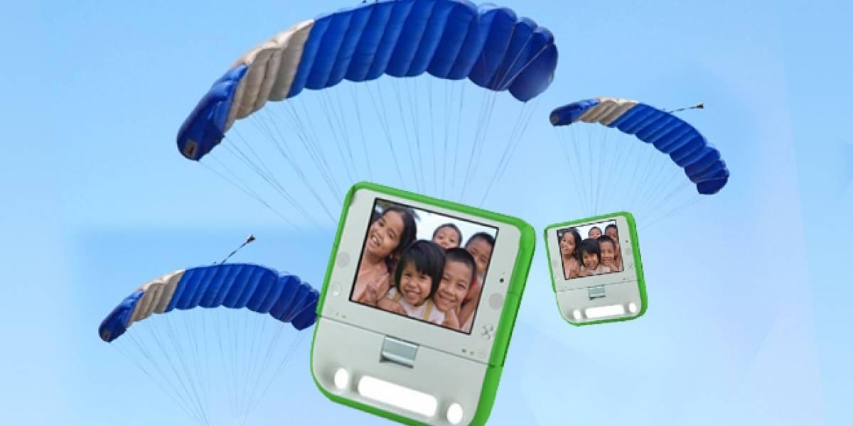 Nicholas Negroponte quiere lanzar tablets del cielo para que los niños aprendan solos