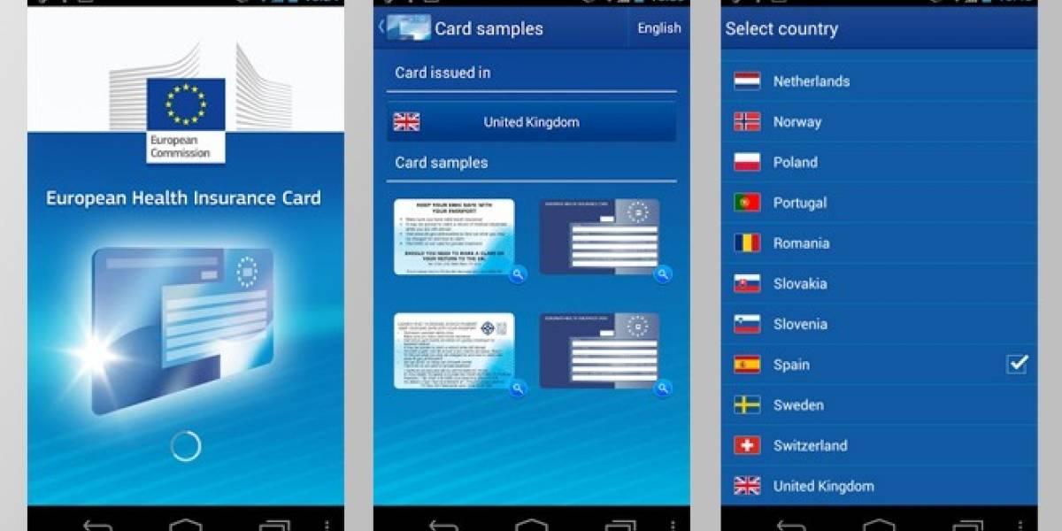 La CE lanza una aplicación con información sobre el uso de la tarjeta sanitaria europea