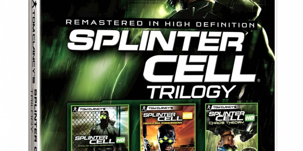 Splinter Cell Trilogy con fecha de lanzamiento
