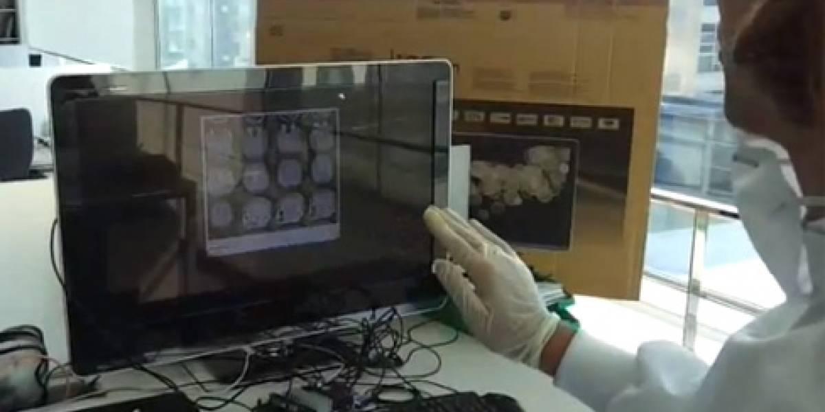 TedCas: Una aplicación Kinect para evitar infecciones en quirófano