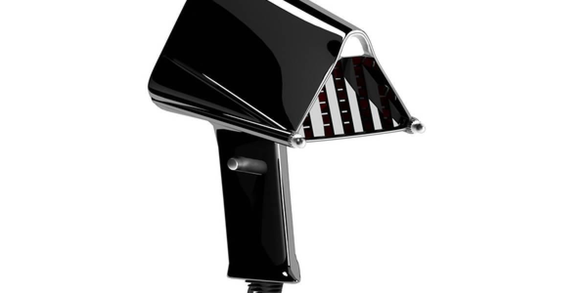Secador en forma de máscara de Darth Vader lleva el lado oscuro a tu cabello