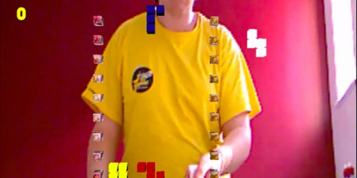 Juega Tetris 3D con un Wiimote y Kinect