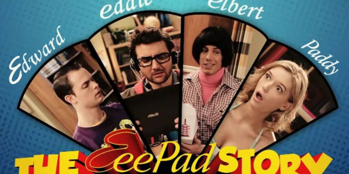 The Big Bang Theory versión ¿Asus?