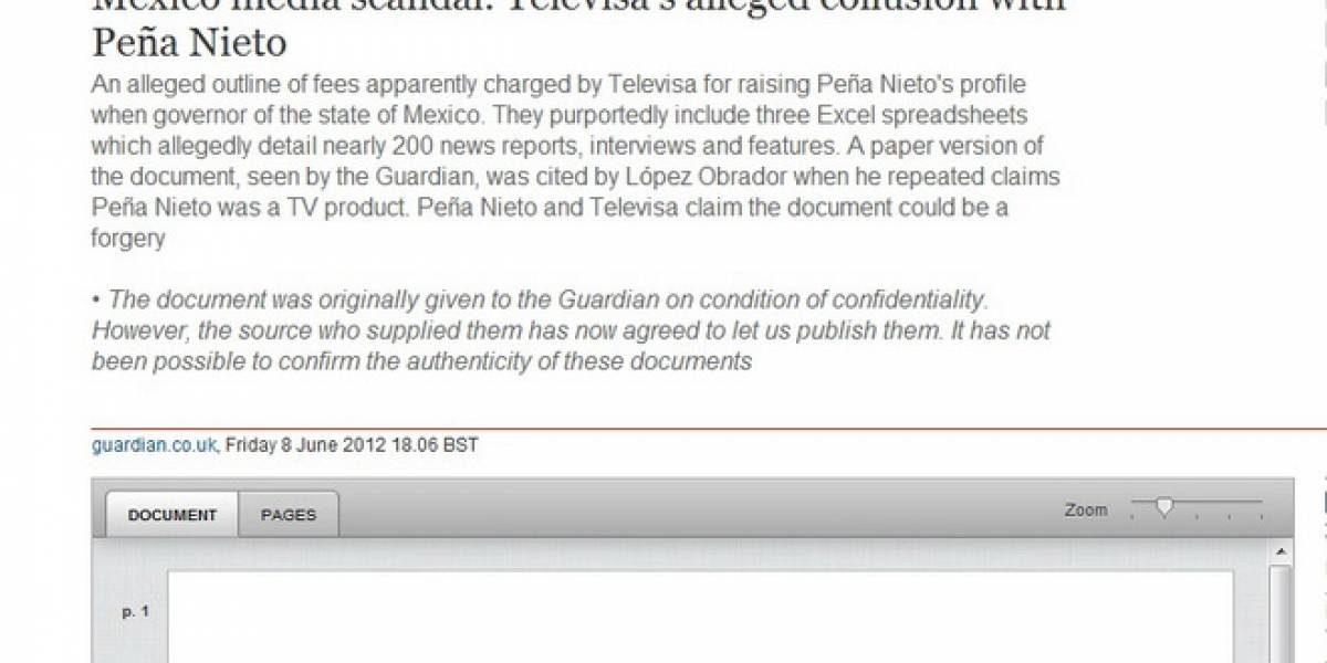 México: Escándalo EPN vs The Guardian ya es trending topic