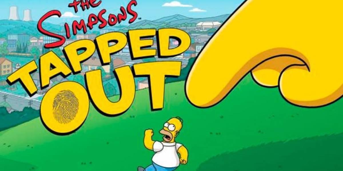 Juego de Los Simpsons en iTunes baja momentáneamente la cortina