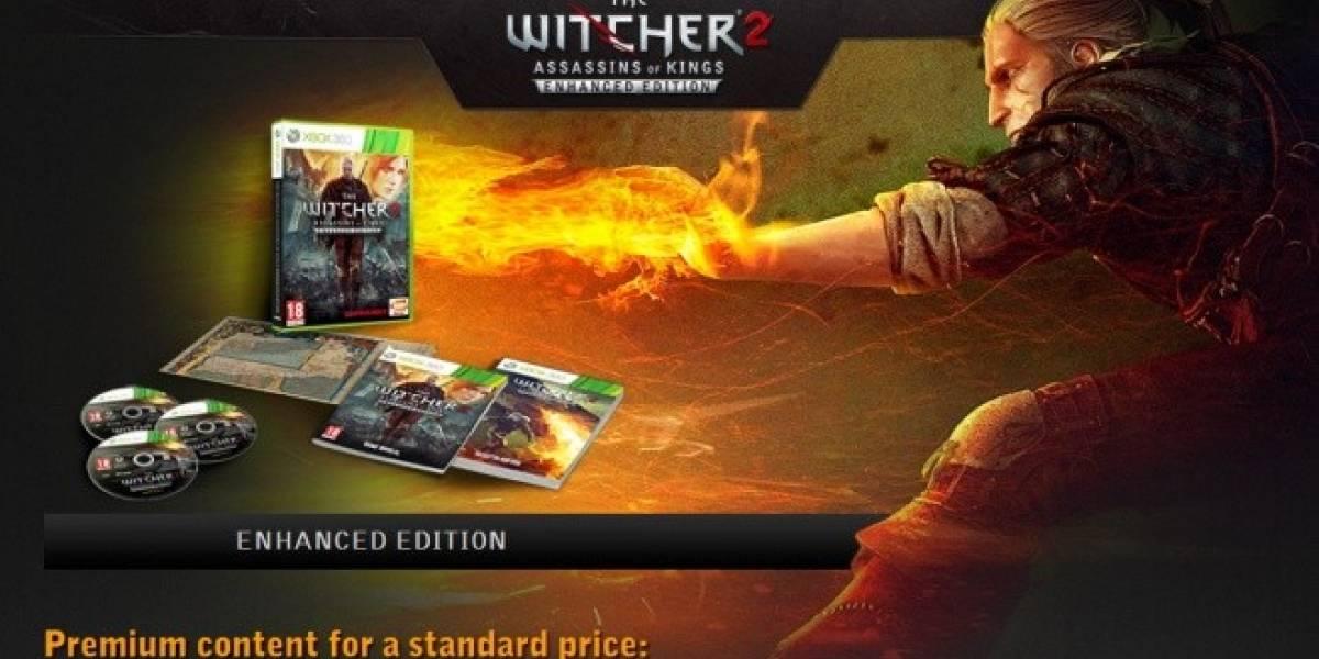 The Witcher 2 en Xbox 360 ya tiene fecha de lanzamiento