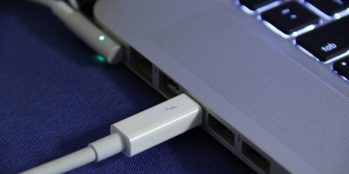 Cables ópticos Thunderbolt serán lanzados a finales de año