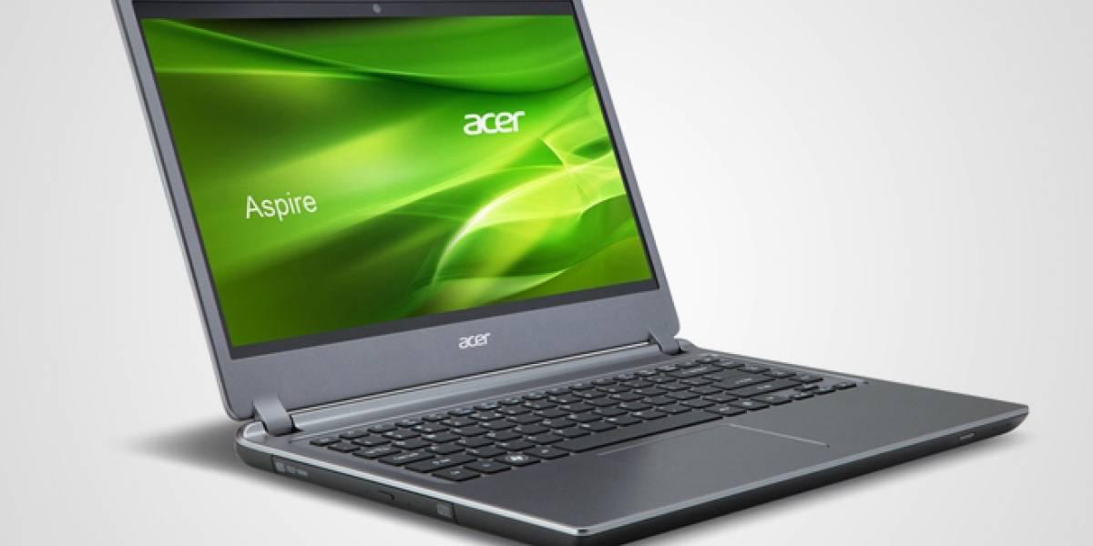 Acer lanza el Aspire Timeline Ultra M5, un ultrabook de 15 pulgadas para gamers