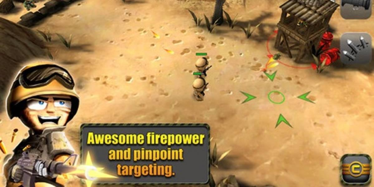 Comanda tu escuadrón de la muerte con Tiny Troopers para iOS