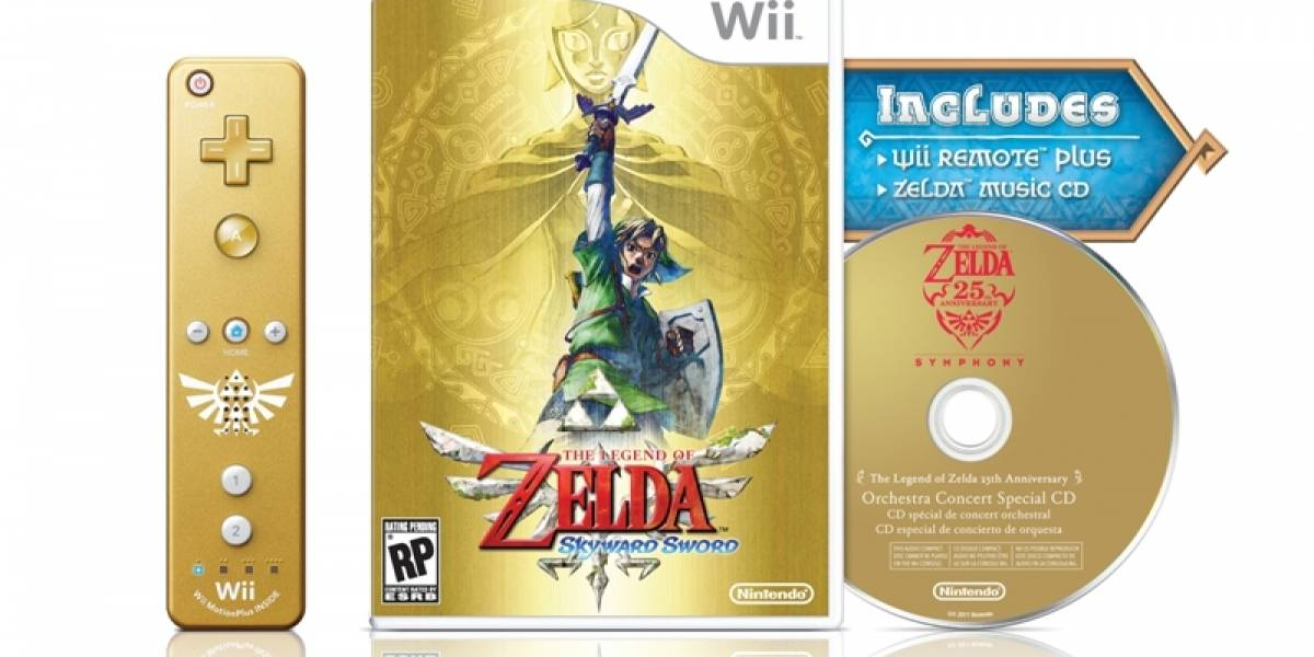 The Legend of Zelda: Skyward Sword tendrá edición limitada