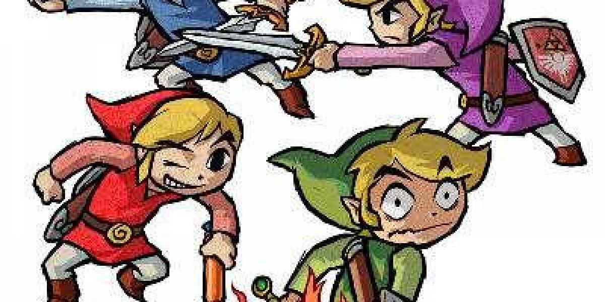 Próximamente TLOZ: Four Swords gratis en DSiWare y 3DS [E3 2011]