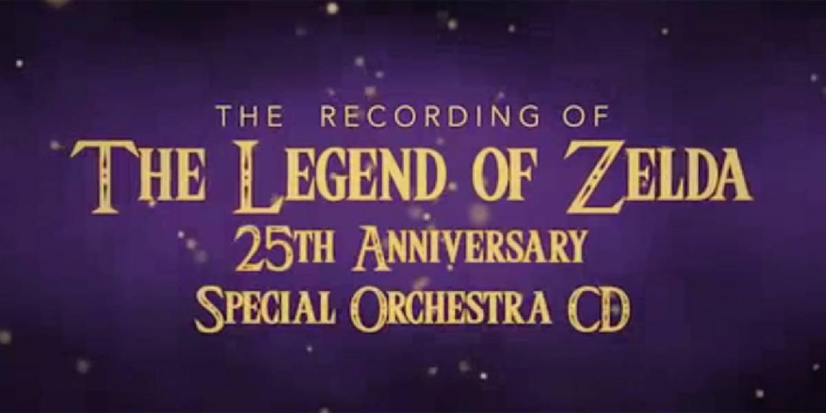 El tema principal de Zelda interpretado por orquesta sinfónica