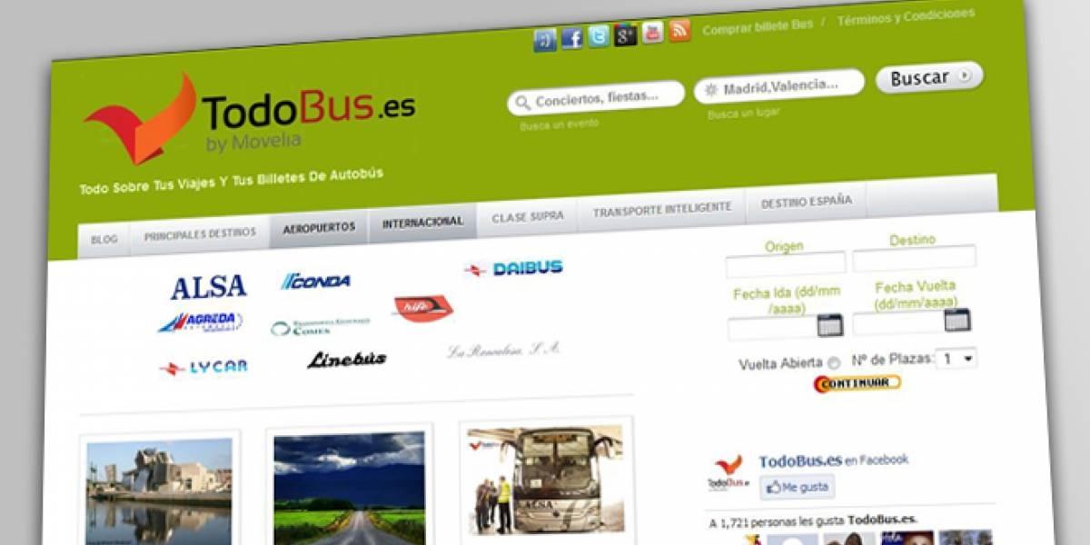 España: Una red social para que los viajeros de autobús compartan experiencias
