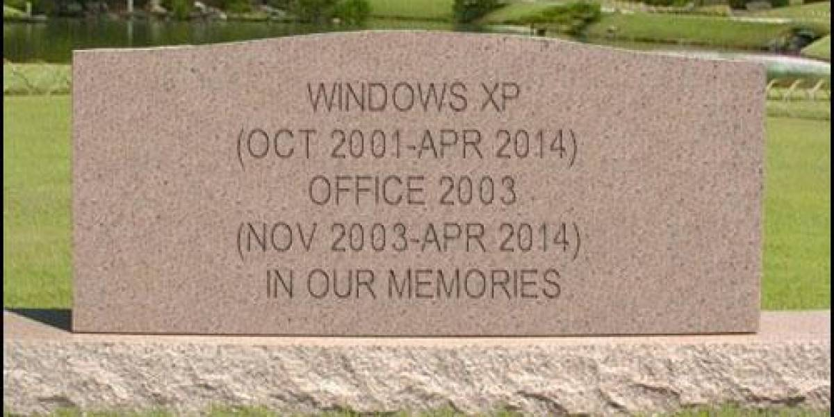 Windows XP y Office 2003 tienen fecha de defunción: Abril 2014
