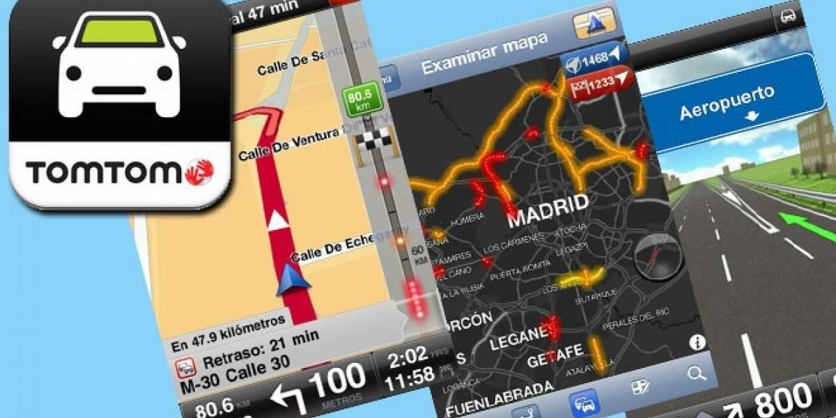 España: TomTom se actualiza para iOS