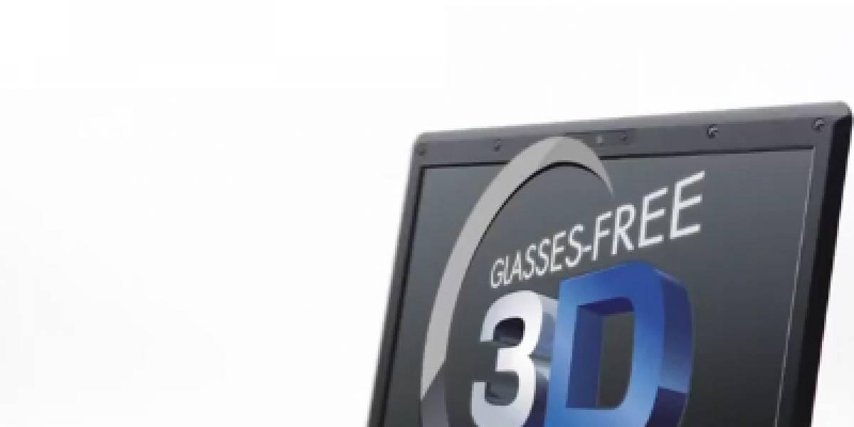 Portátil 3D sin gafas de Toshiba llegará este mes a España