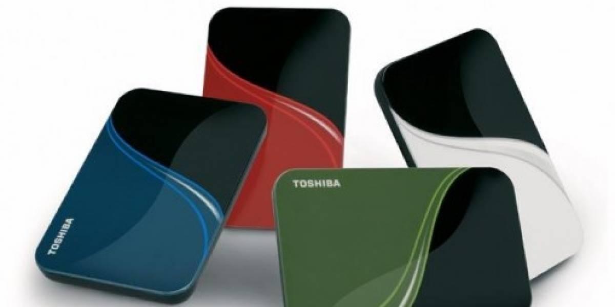 Toshiba introduce nuevos discos duros externos