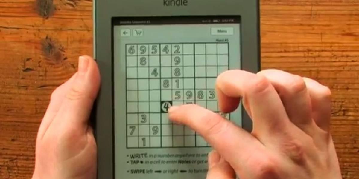 Touchwrite permite escribir a mano en la Kindle