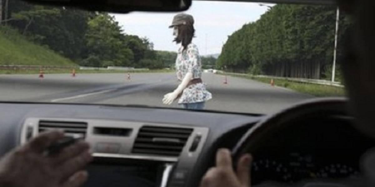 Sistema de Toyota detiene automáticamente el vehículo al detectar peatones