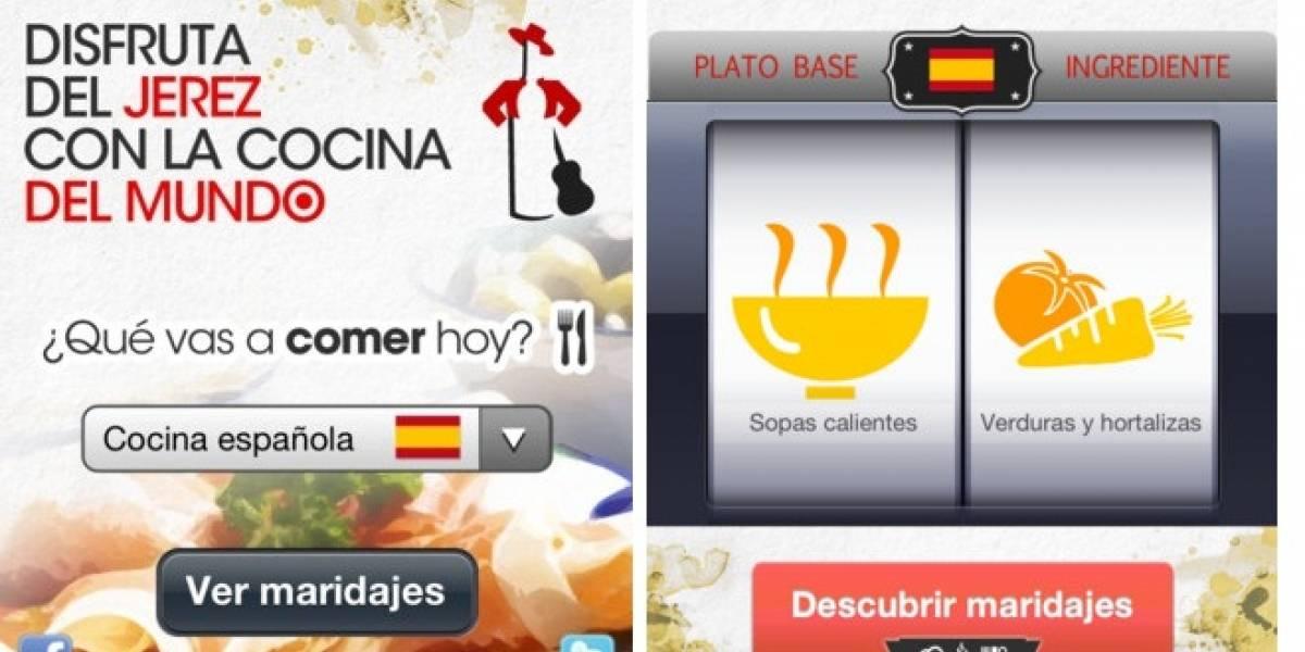 Aprende a maridar el Jerez con la nueva App de Tío Pepe