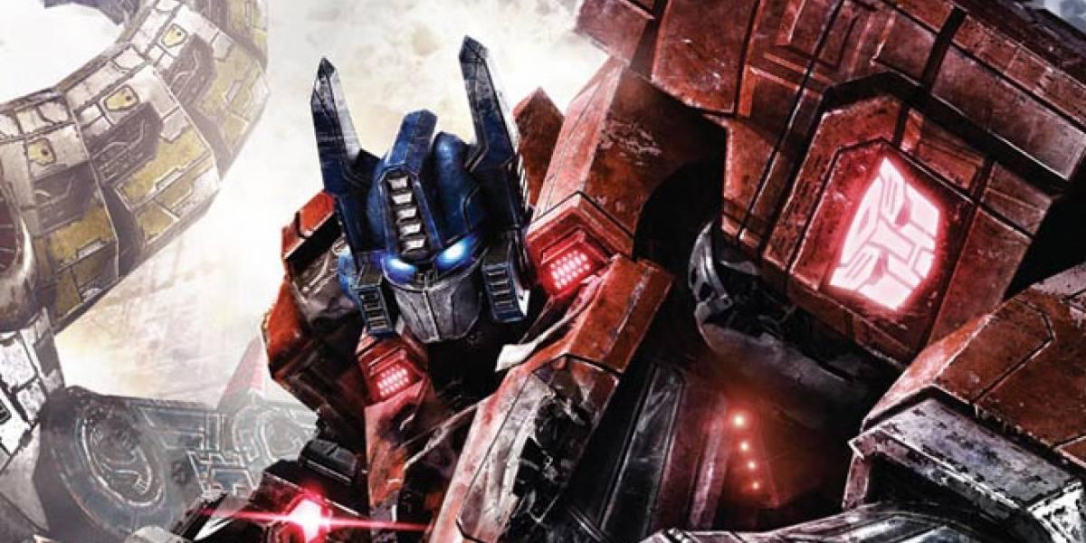 Transfomers: Fall of Cybertron estrena trailer en los [VGA 2011]