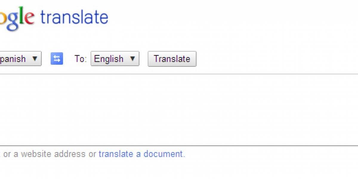 Google ya no dejará usar su servicio de traducción desde otros sitios