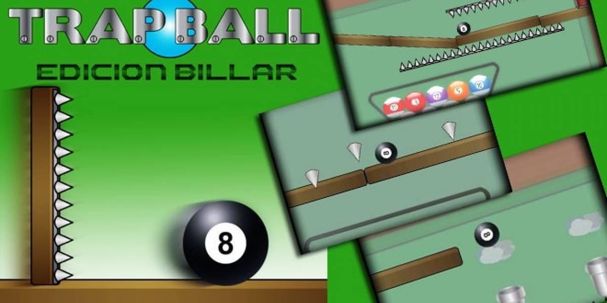 Trap Ball Edición Billar: El primer juego de la española Axouxere Games para Android