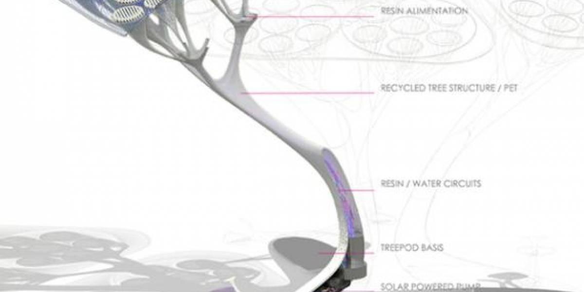 Treepod, el árbol artificial