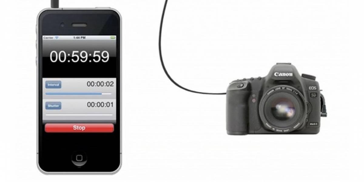 Convierte tu smartphone en un disparador remoto de tu cámara DSLR