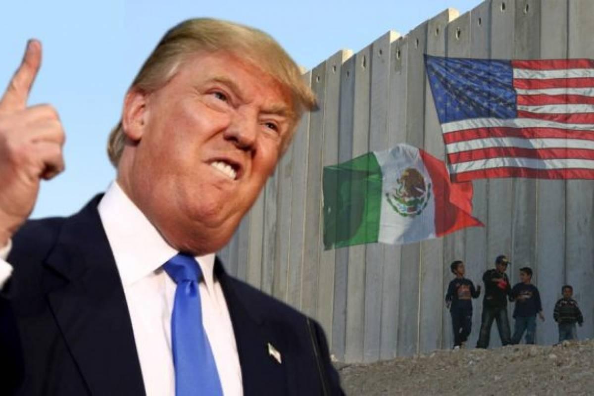 Trump busca 25.000 millones para levantar el muro con México — Estados Unidos
