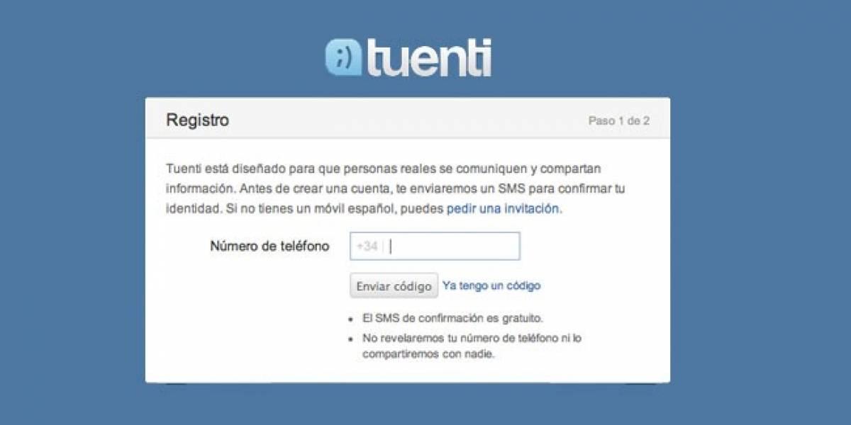 España: Ahora Tuenti nos deja registrar desde el móvil y sin invitación