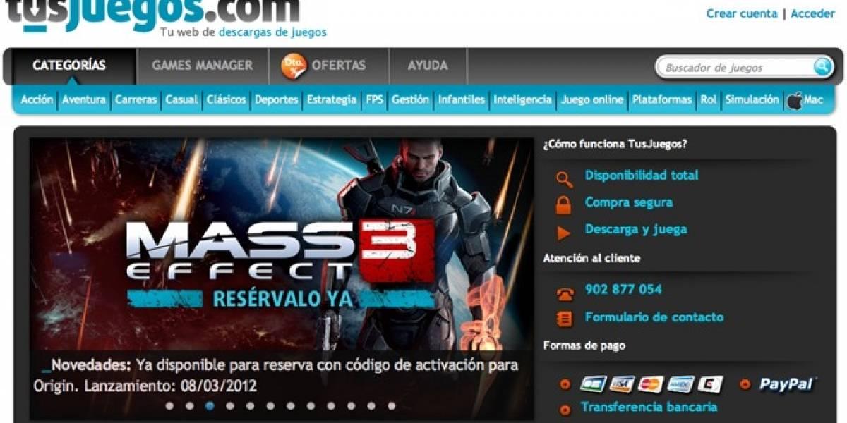 TusJuegos.com es el primer Steam español