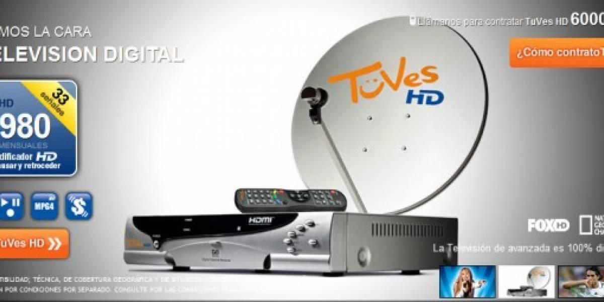 Chile: Llega TuVes, nuevo servicio de TV HD