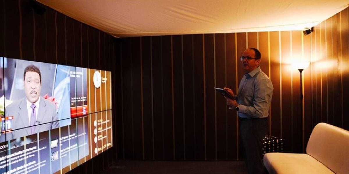 """Futurología: """"En cinco años tendremos pantallas de TV cubriendo toda una pared"""""""
