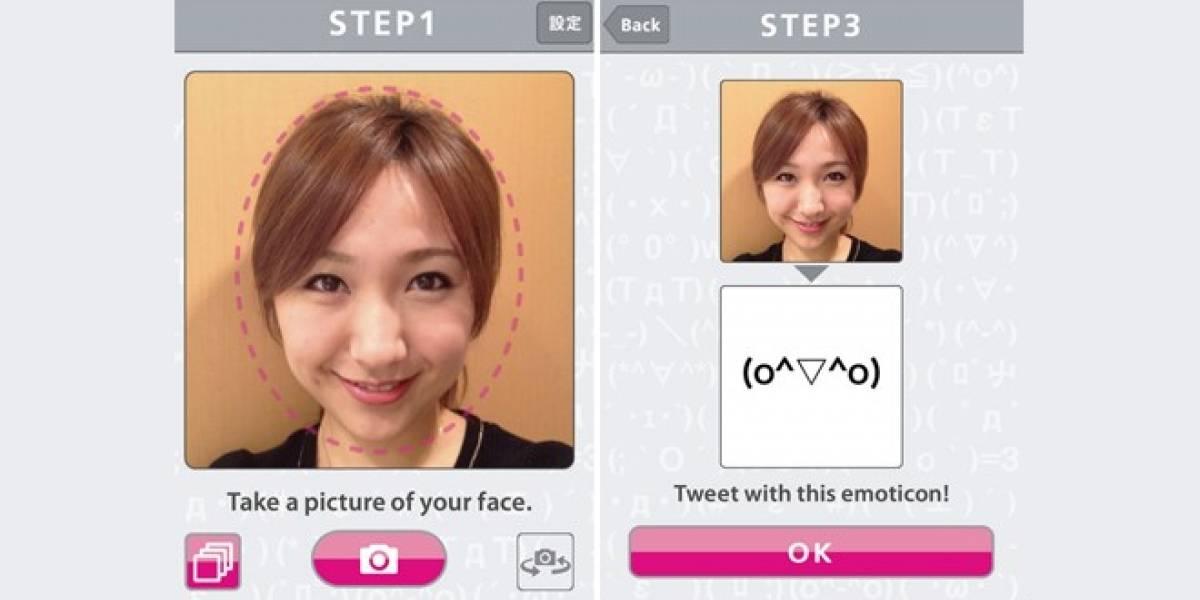 Convierte tu cara en un emoticon