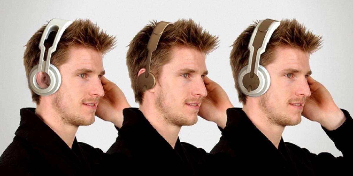 Audifonos transformer que se convierten en dos
