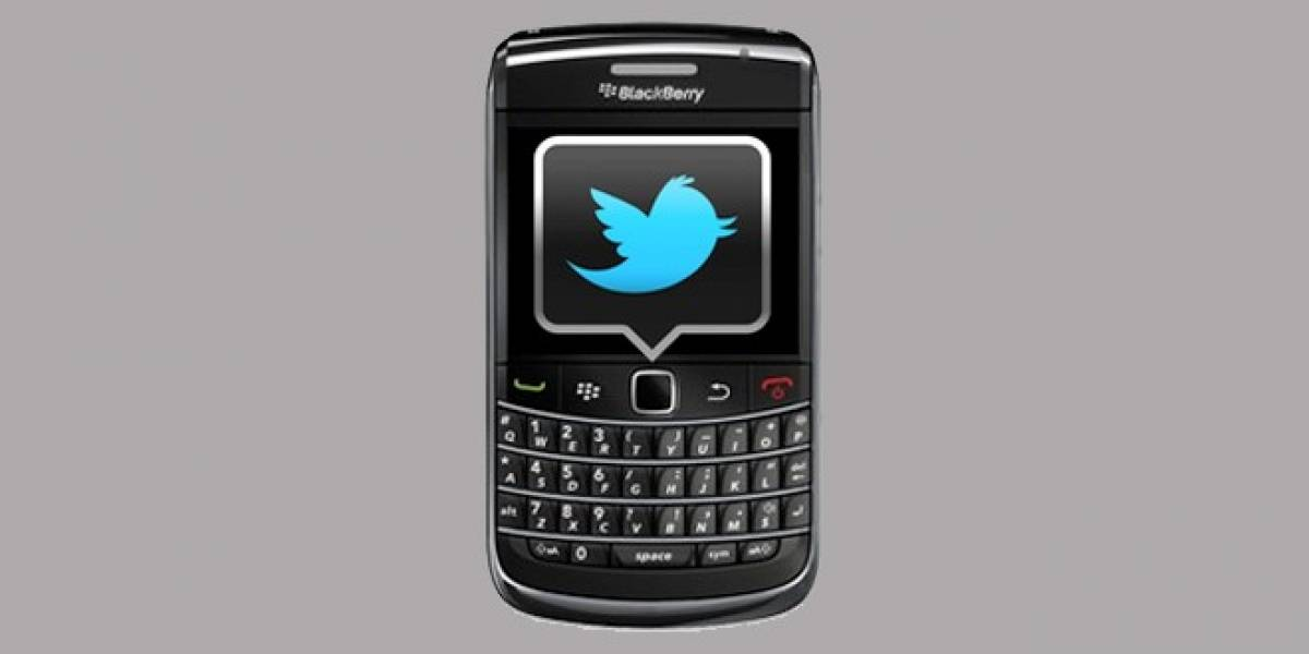 Twitter se actualiza a 3.0 para BlackBerry