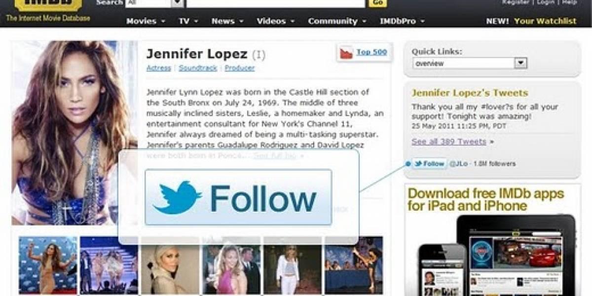 Twitter lanza botón para seguir personas y Google lanzará mañana el +1 para webs