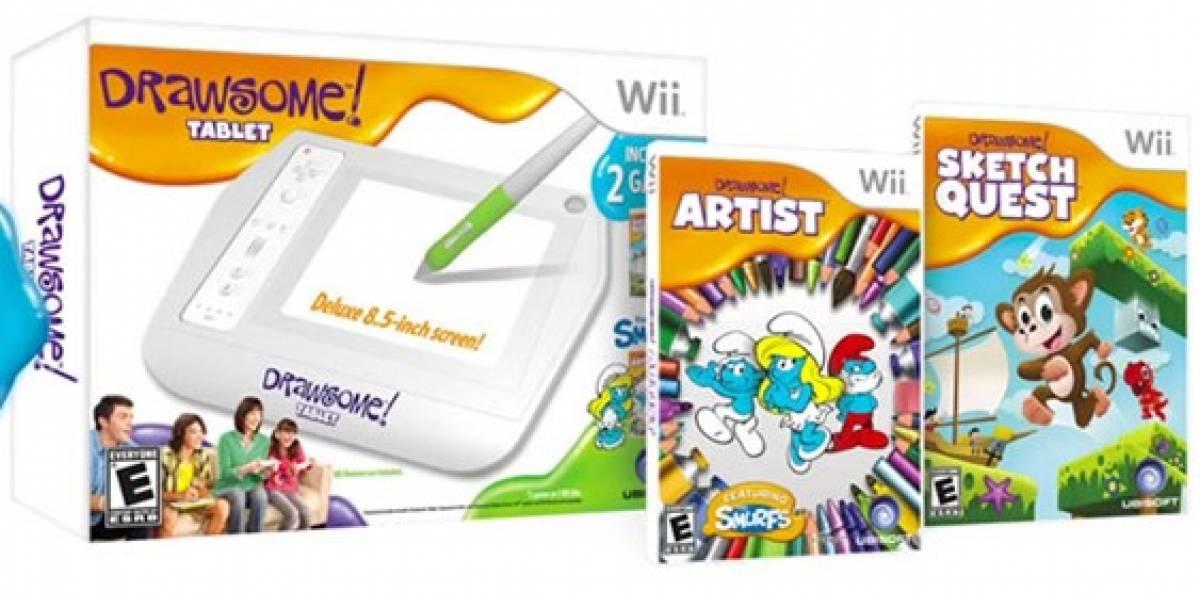 Ubisoft presenta tablet para dibujar en la Wii