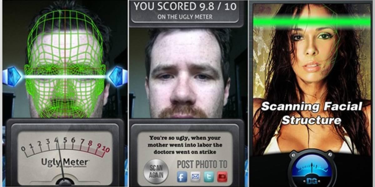 Ugly Meter: Una aplicación que nos dice lo feos que somos