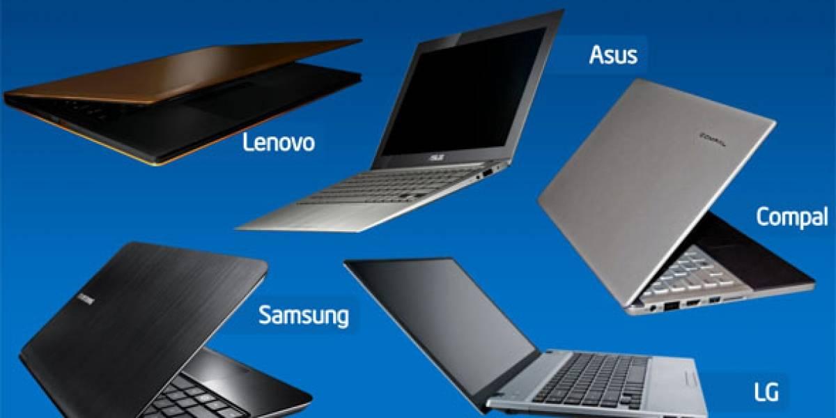 Intel subsidiará a fabricantes de portátiles para animarlos a fabricar Ultrabooks