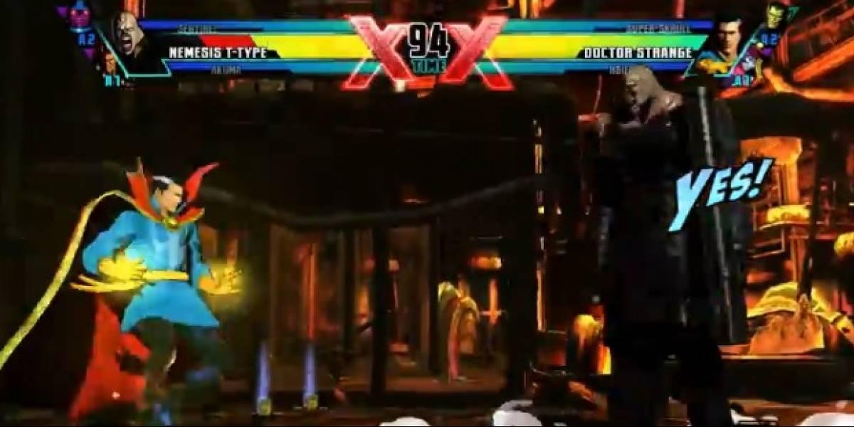 Dr. Strange y Nemesis en Ultimate Marvel Vs. Capcom 3 [gamescom 11]